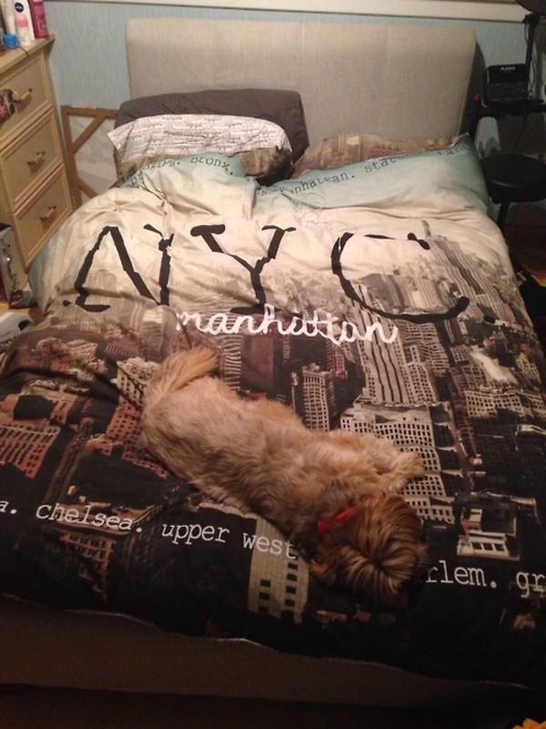 Scarf New York City Blanket Bedding Bedding Bedding Wheretoget