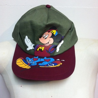 hat mickey mouse dope cap
