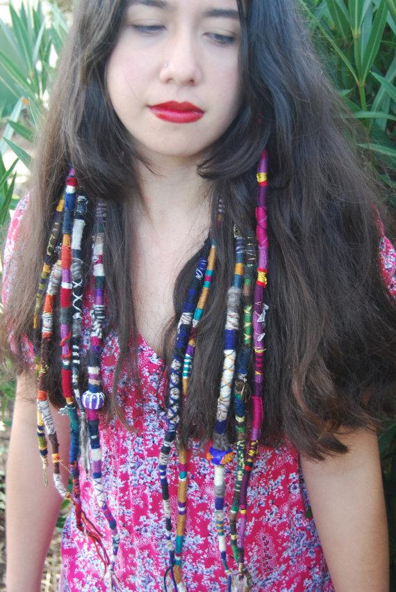 Arizona Sunset Hair Wrap Hair Extension Dread Wrap