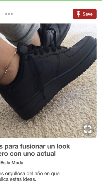 shoes matte black nike
