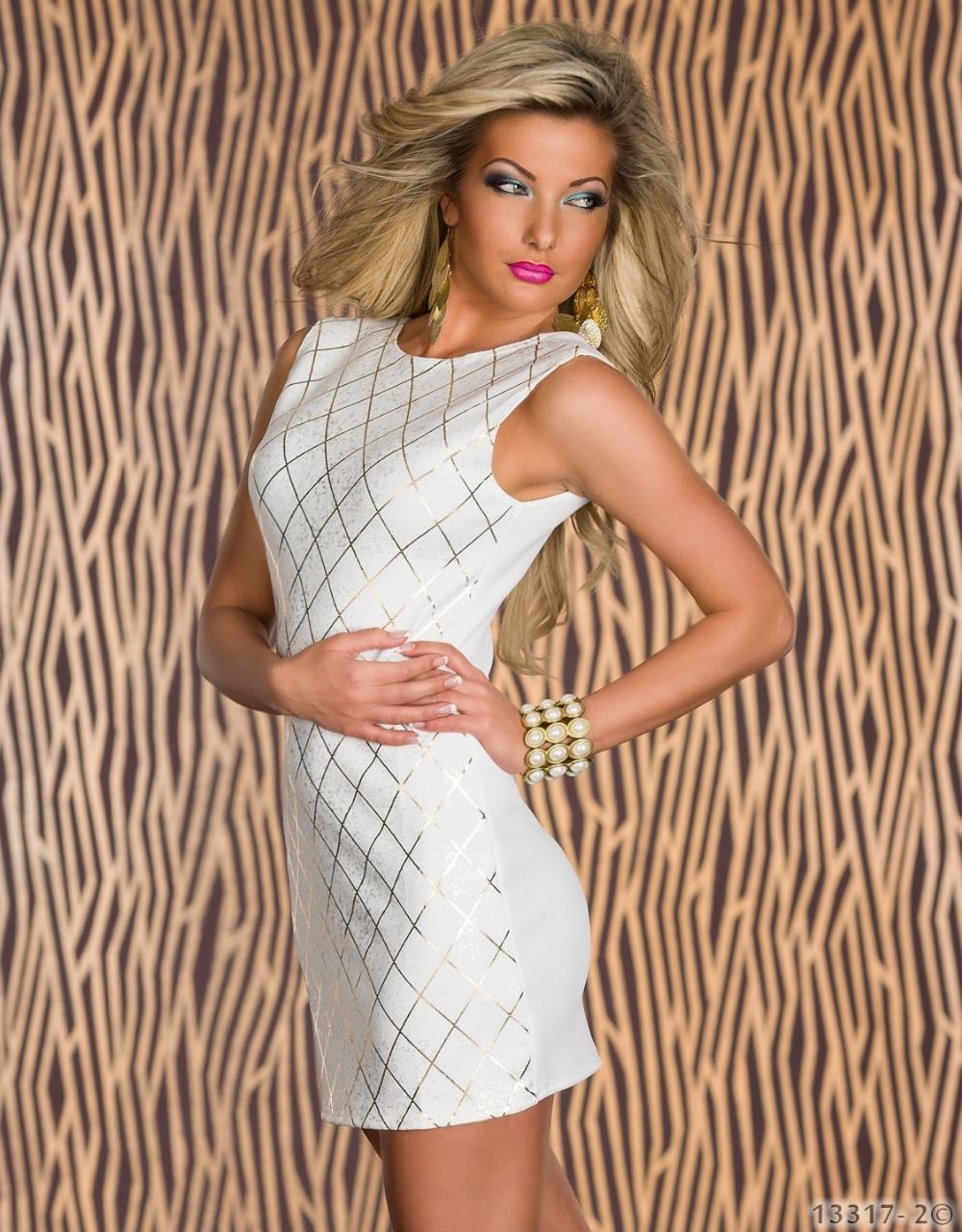 2014 hot sale bronzing printing round neck halter dress sexy dress clubwear sexy underwear M,L   Amazing Shoes UK