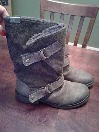 shoes roxy children's boots brown gordman's shoe carnival