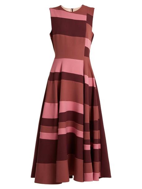 dress sleeveless burgundy
