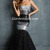 Trumpet/Mermaid Strapless Floor Length Sequin Tulle Formal Dresses 2014 - Gardeniasite