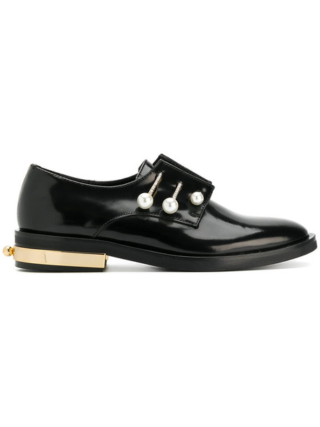 Coliac women shoes leather black