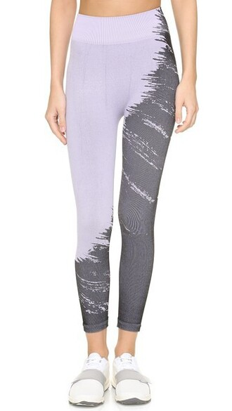 leggings pastel lilac pants