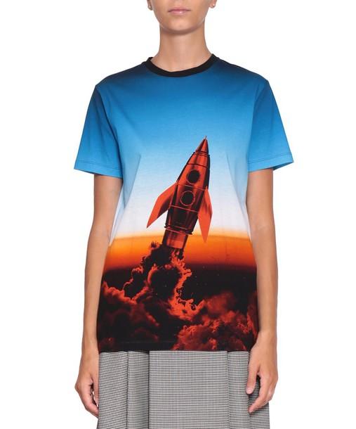 t-shirt shirt cotton t-shirt t-shirt cotton multicolor top