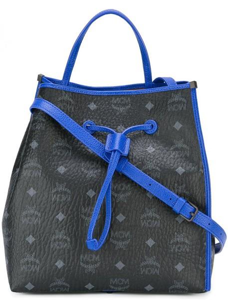 MCM bag shoulder bag print black