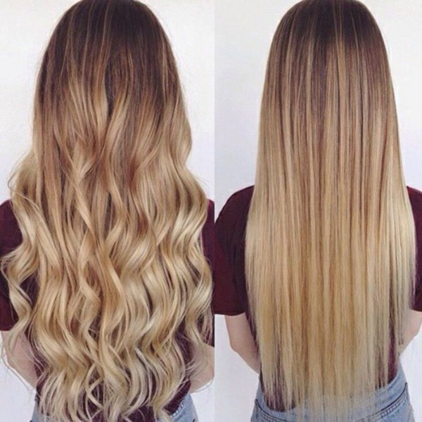 Shoulder length ombre hair tumblr