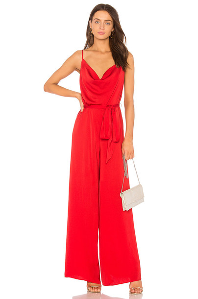 THE JETSET DIARIES jumpsuit red