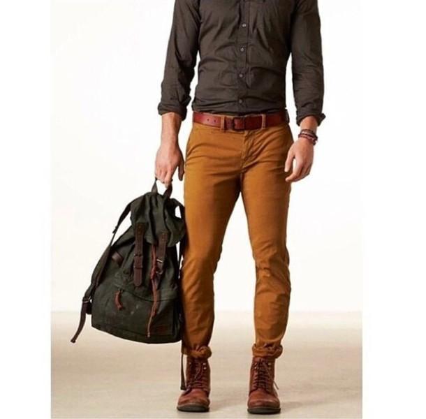 Shoes: men's pants, pants, jeans, brown shoes, mens shirt ...