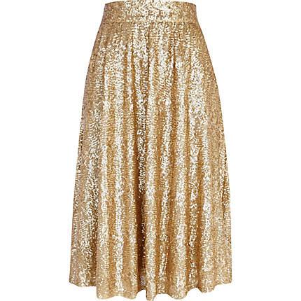 sequin A line midi skirt - skirts - sale - women