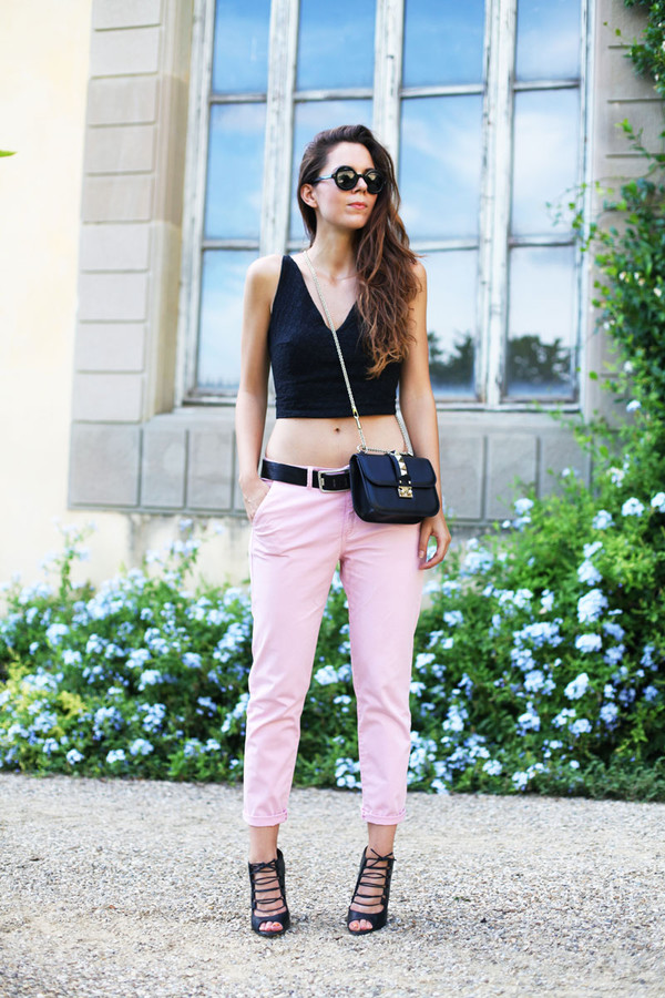 irene closet bag shoes top sunglasses pants