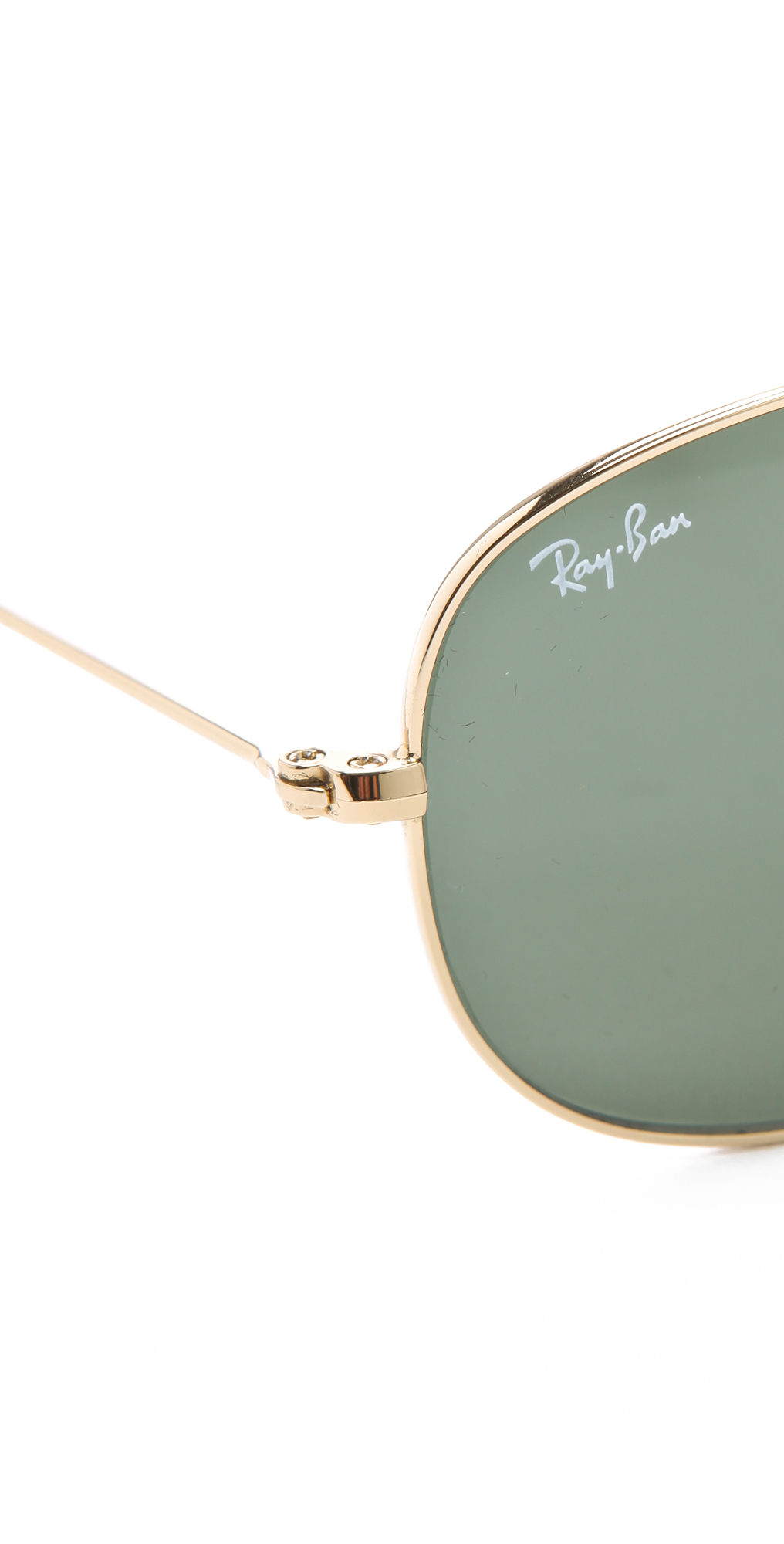 Ray-Ban Cockpit Aviator Sunglasses | SHOPBOP