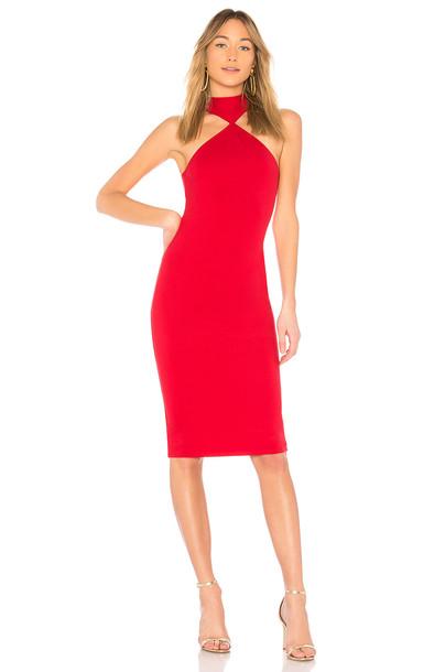 LPA dress red