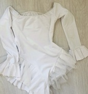 top,bodysuit,long sleeves,trendy,white bodysuit,angel,costume,sexy costume,long sleeve bodysuit,white,daisey odonell,halloween costume,queen bee sexy costume,frilly