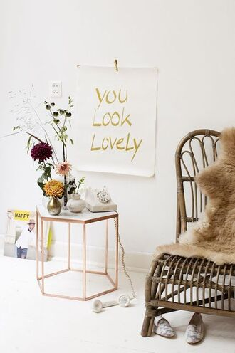 home accessory wall decor home decor table poster hipster home furniture sheepskin throw