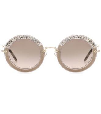 noir sunglasses round sunglasses