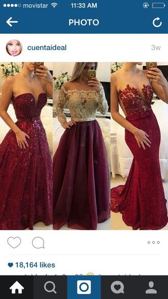 dress red prom sexy long dress