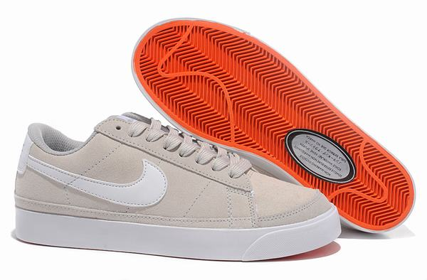 Nike Blazer Low Grey White Men Trainers