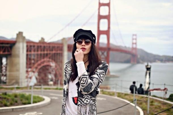 natalie off duty jeans jacket t-shirt sunglasses bag shoes