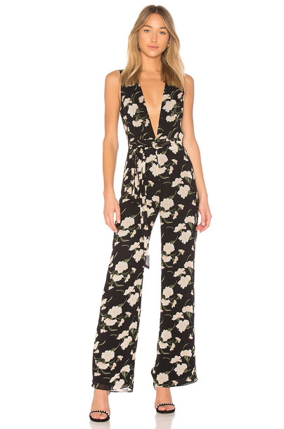 Privacy Please jumpsuit black