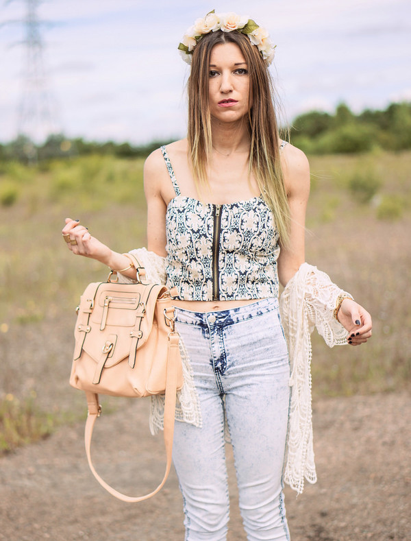 top bag jeans pretty streetstyle stylemoi fabulous summer outfits