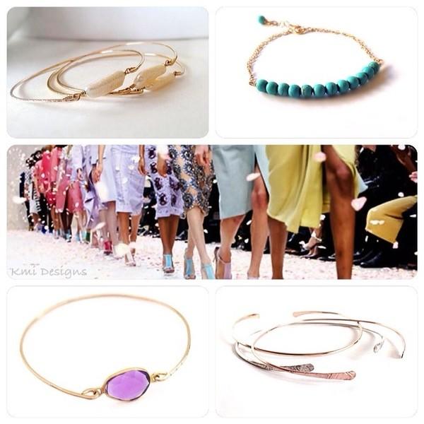 jewels color/pattern stacked bracelets bracelets etsy fashion necklace jewelry gold gold jewelry