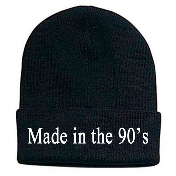 Made in the 90's beanie, made in the 90's hat