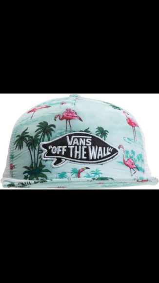 vans hat vans of the wall tropical