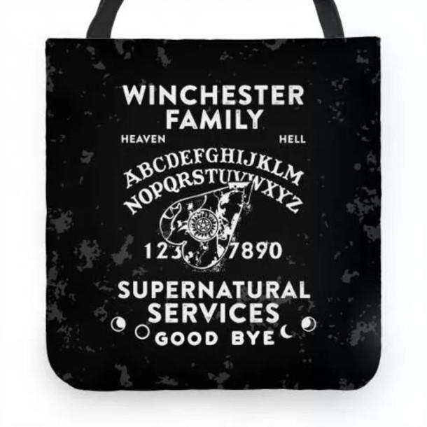 bag winchester supernatural ouija