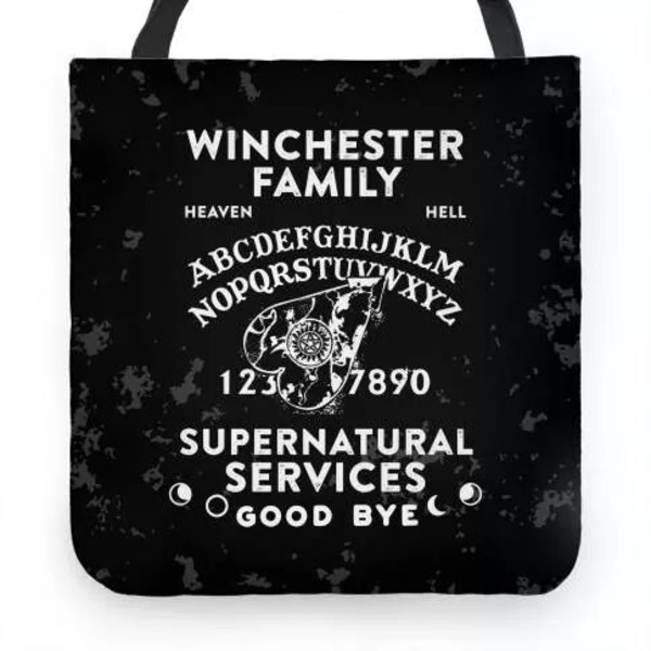 bag winchester supernatural ouija