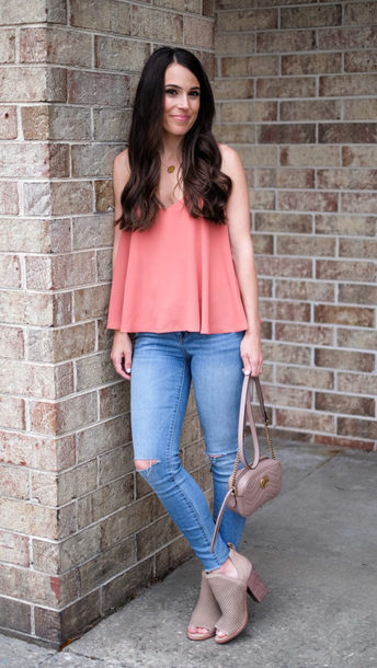 mrscasual blogger top shoes jeans bag jewels