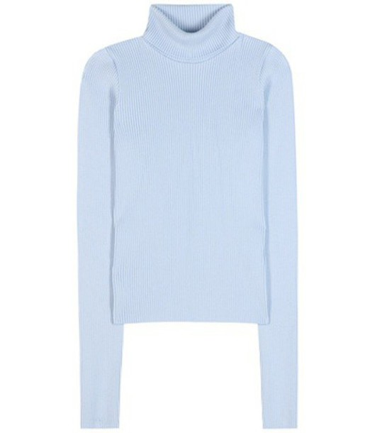 Jacquemus Wool Turtleneck Sweater in blue