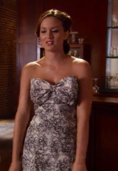 gossip girl blair waldorf dress leighton meester