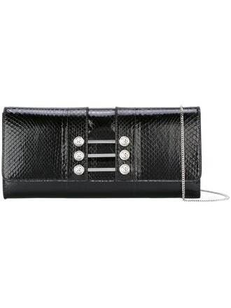 women clutch black bag