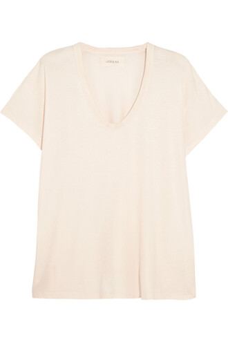 t-shirt shirt cotton white off-white top
