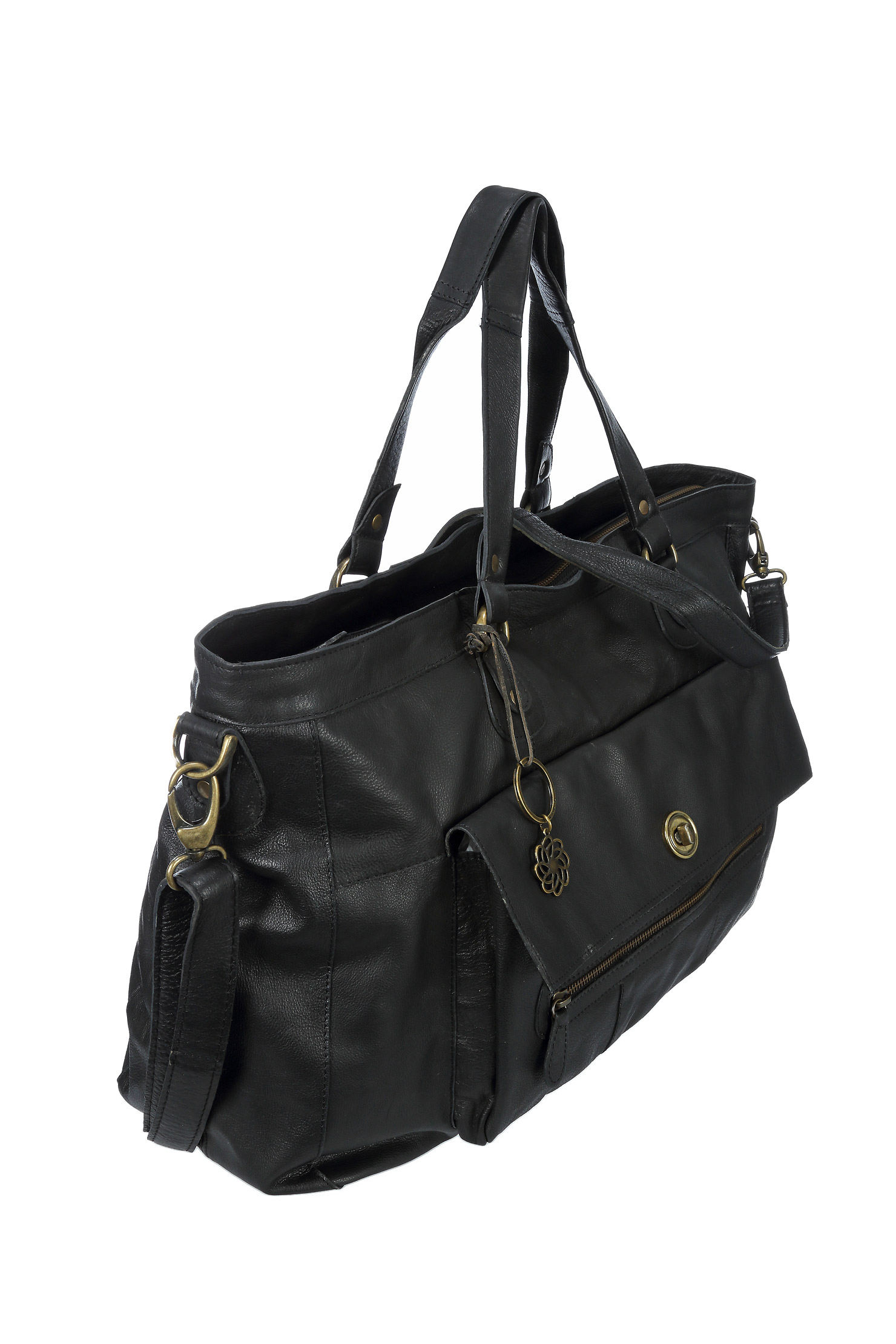 Travel bag en cuir Totally