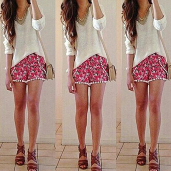 b04cf77dc28c pompom shorts