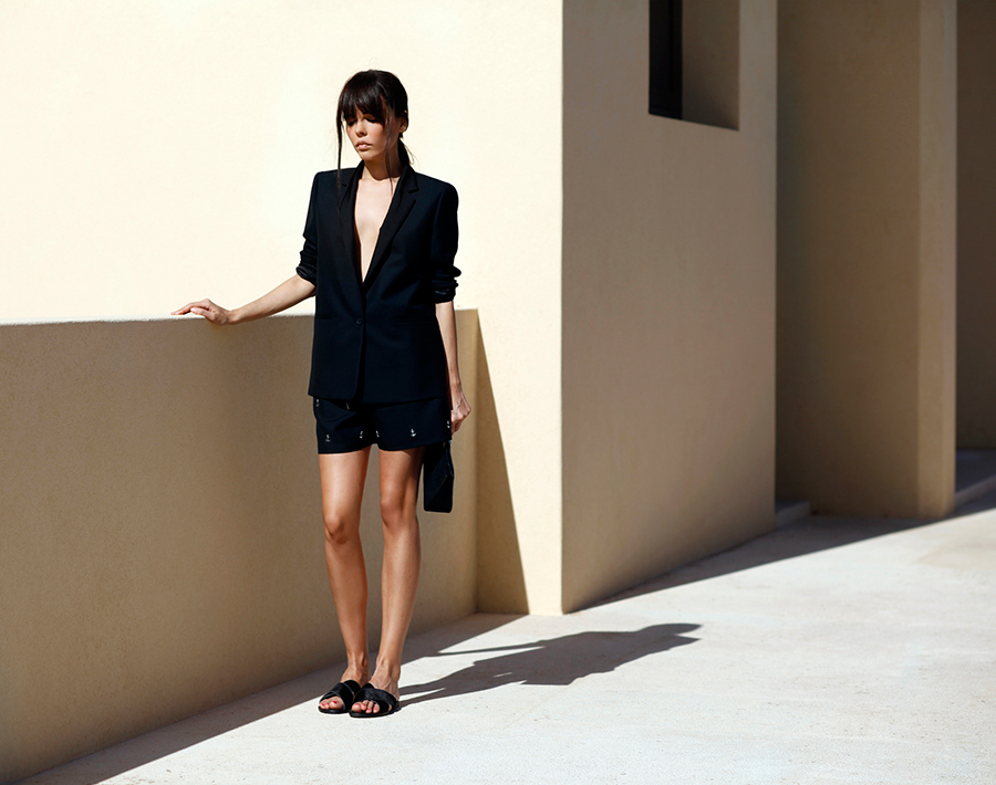 Acne anchor suit | STYLEHEROINE