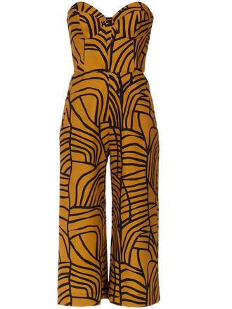 jumpsuit cropped jumpsuit strapless cropped women spandex cotton
