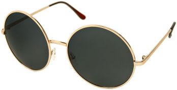 Lady gaga round retro sunglasses with oversized lenses