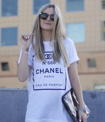 No 666 white print t shirt from tumblr fashion on storenvy