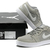 AJ V.2 Low Jordan Casual Shoes Matte Silver and White Mens