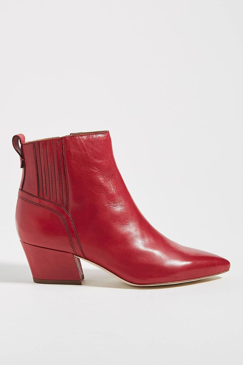 Sarto by Franco Luca Ankle Boots in Purple