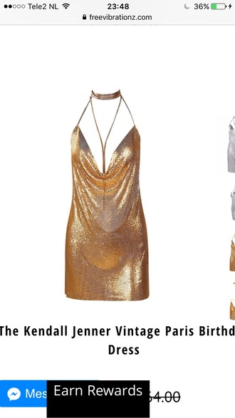 dress gold sexy party dress fashion style trendy hot free vibrationz