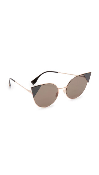 rose gold rose arrow sunglasses gold black