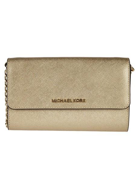bag shoulder bag metallic