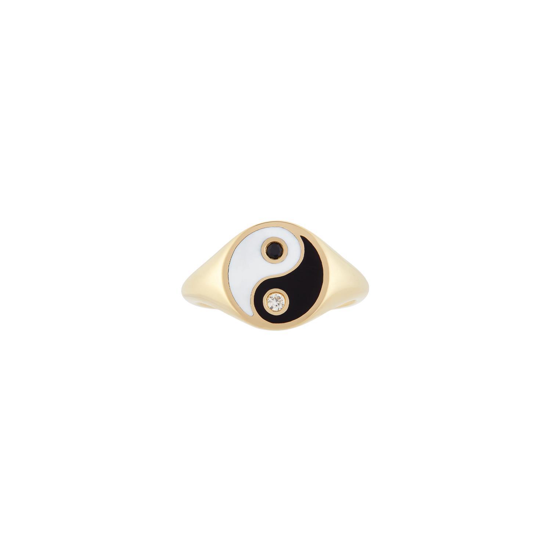 Yin Yang Pinky Ring