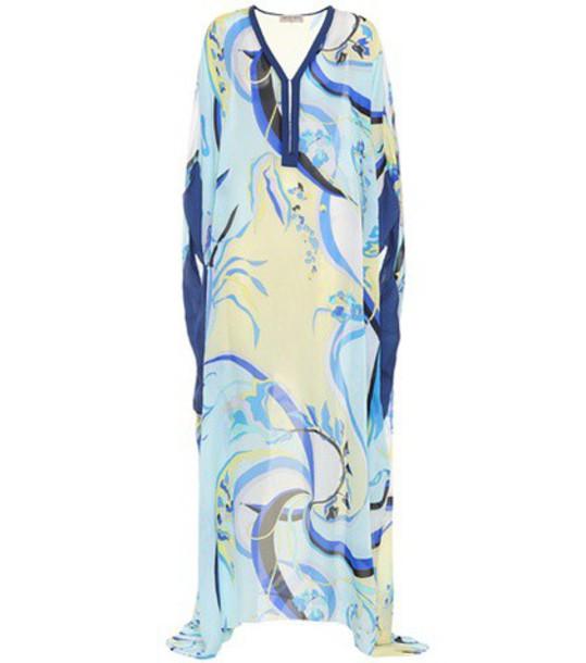 Emilio Pucci Beach chiffon silk top